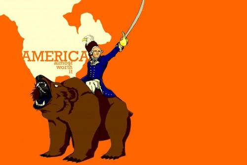 america - almost worth it
