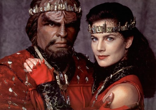 Dax and Worf