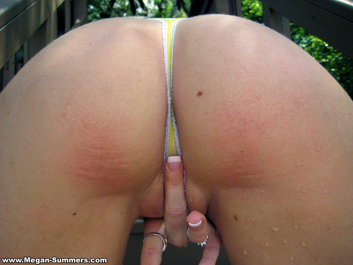 Girls showing middle finger