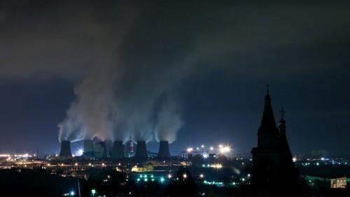 Nuclear Steam Stacks