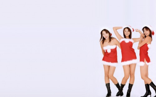 sexy xmas asians 500x312 Sexy Xmas asians xmas X Mas Wallpaper Sexy