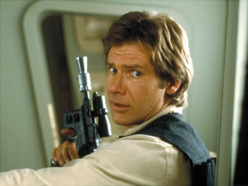 Star Wars - Han Solo and his marvelous blaster - which shot first