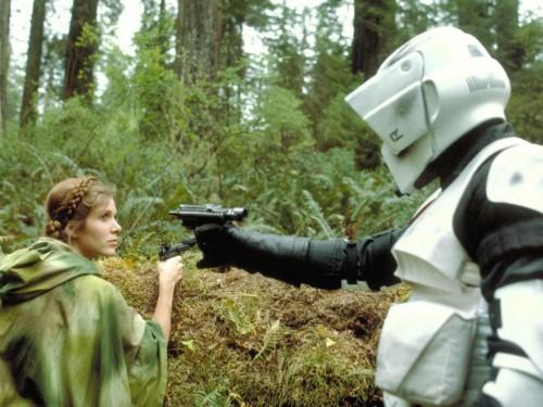Star Wars - Leia Gets Ambushed