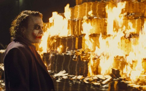 The Dark Knight - Joker's Money