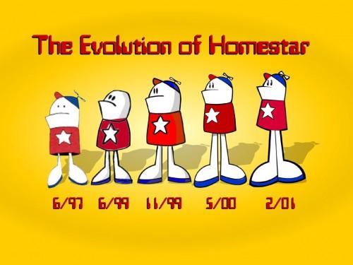 The Evolution Of Homestar