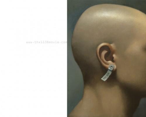 thx 1138 ear piece