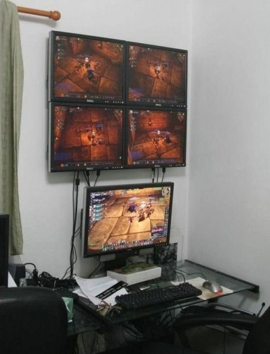 Multiboxing World of Warcraft