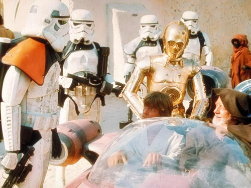 star wars - these are NOT the droids you're looking for