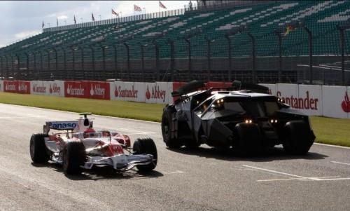 Batmobile Vs F1 Car