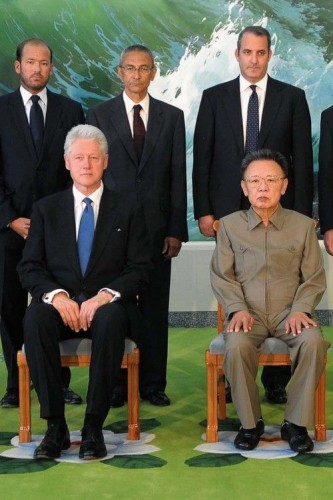 President Clinton and Nerd