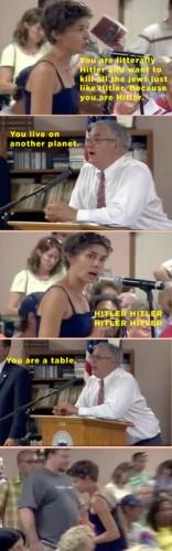 Typical american political debate