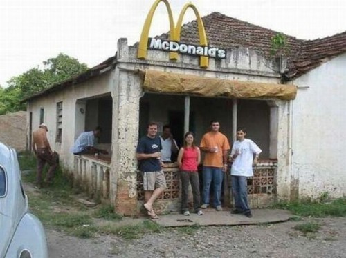 third world mcdonalds 500x374 third world mcdonalds wtf