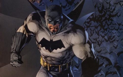 batman is gritty