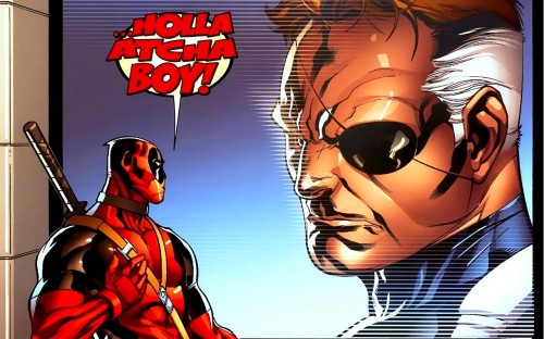 nick fury - holla atcha boy
