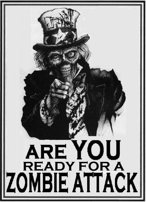 are you ready for a zombie attack