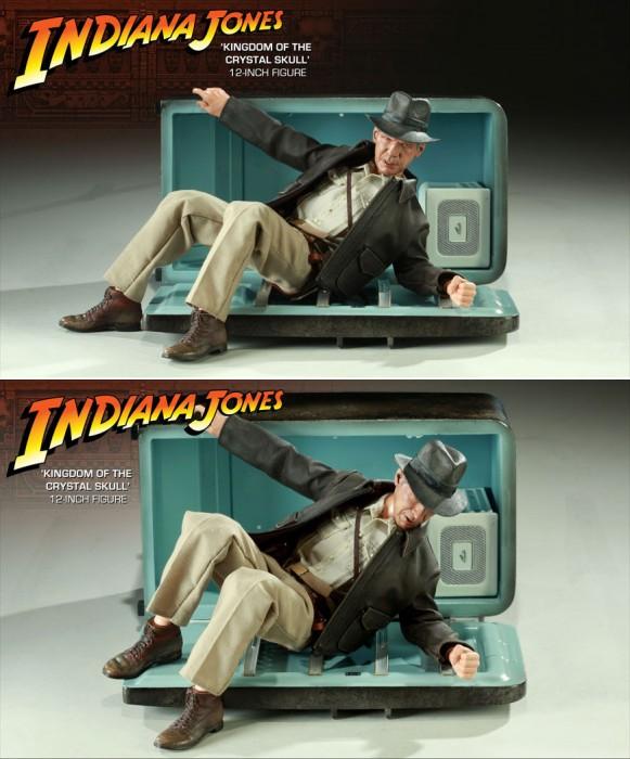 Indiana Jones with Fridge