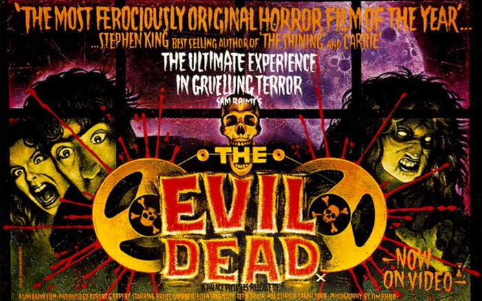 The Evil Dead movie poster