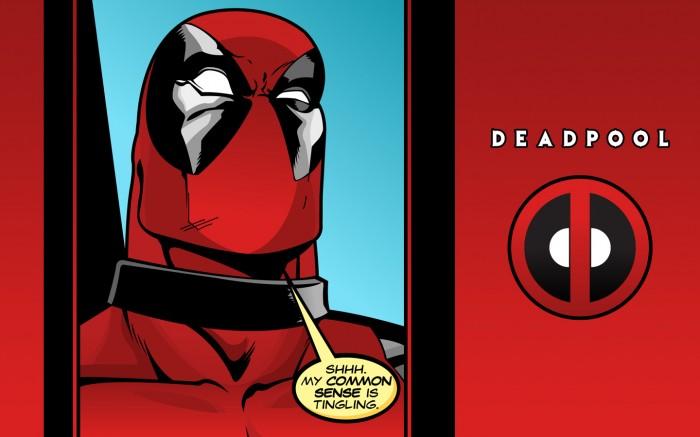 deadpool's common sense is tingling