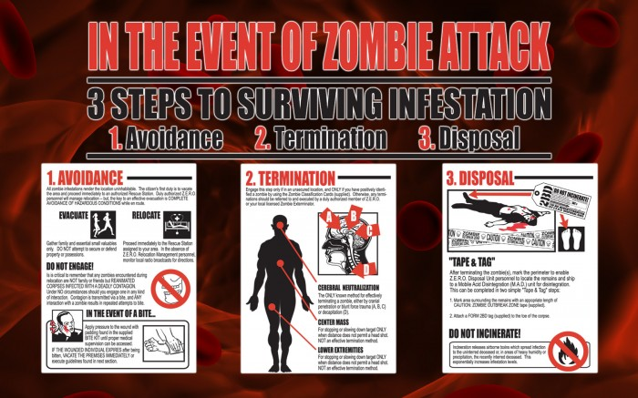in the event of zombie attack 700x437 in the event of zombie attack