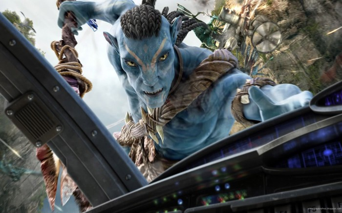 Avatar wallpaper - cockpit killer
