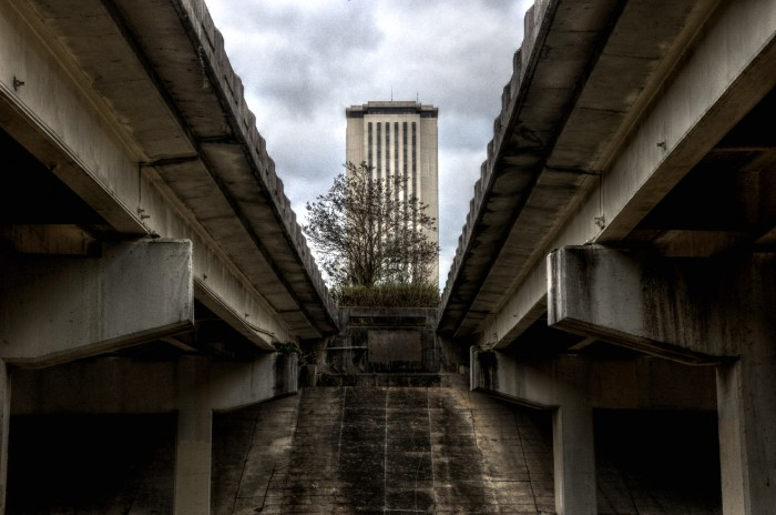 tallahassee capitol over pass
