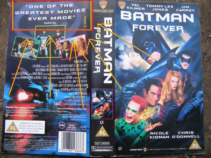 Jonothan Ross Liked Batman Forever