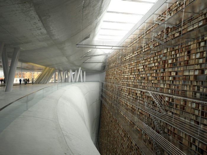 library slope