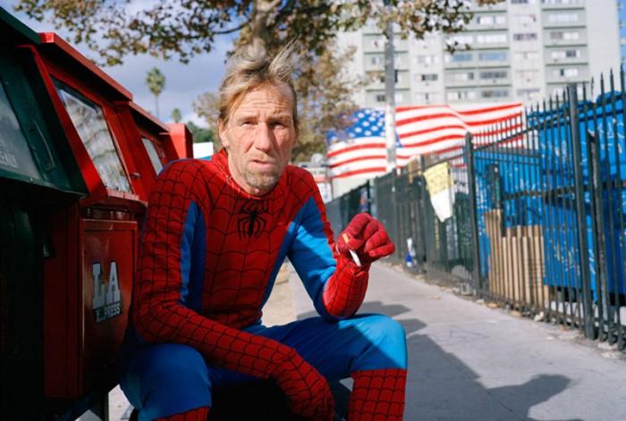 smoking spider-man