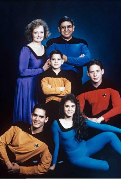 star trek family
