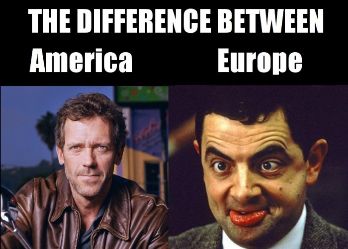 the difference between america vs europe