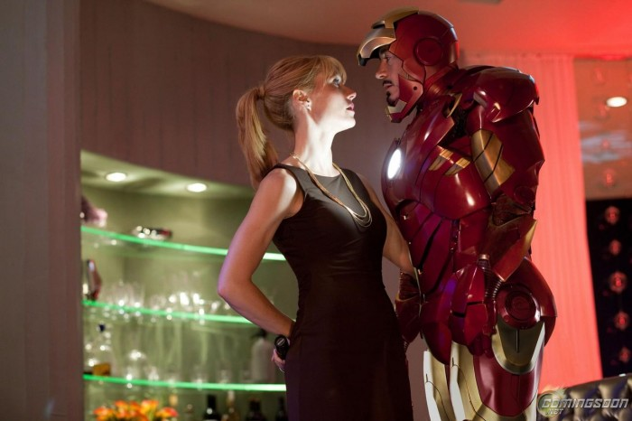 iron man 2 - pepper and tony