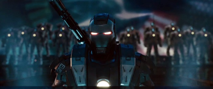 iron man 2 - war machine has glowing eyes