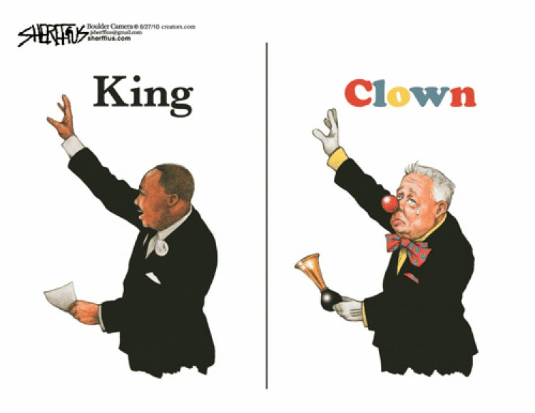 king vs clown