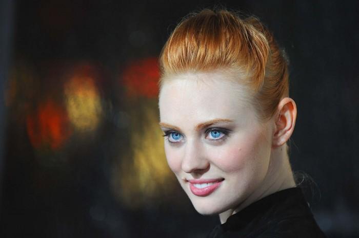 sexy redhead wallpaper - Deborah Ann Woll