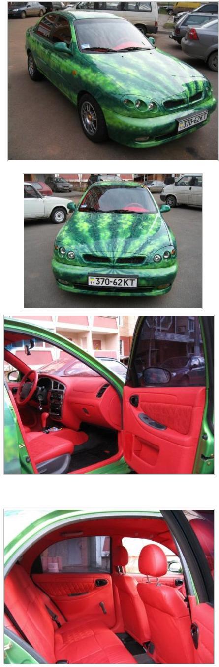 watermellon car