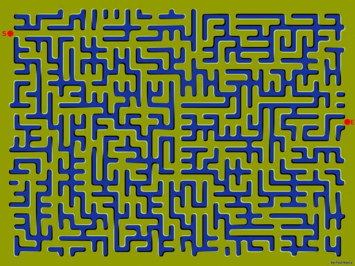 wavey maze