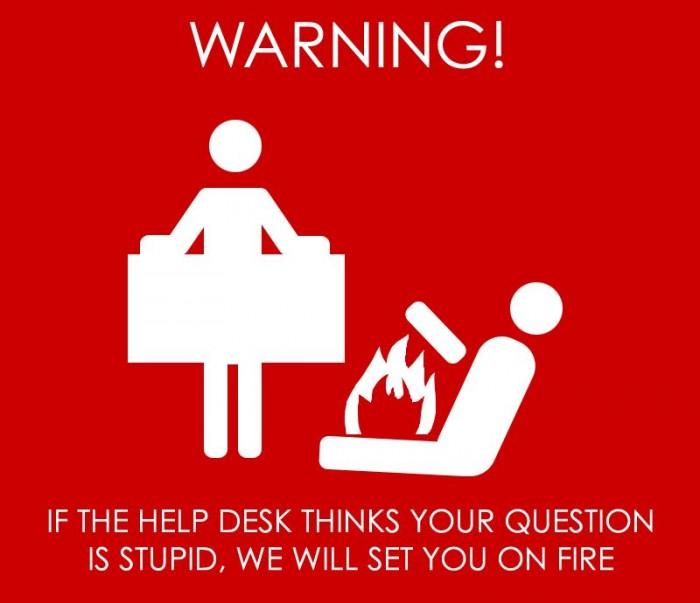 Help Desk Hates You