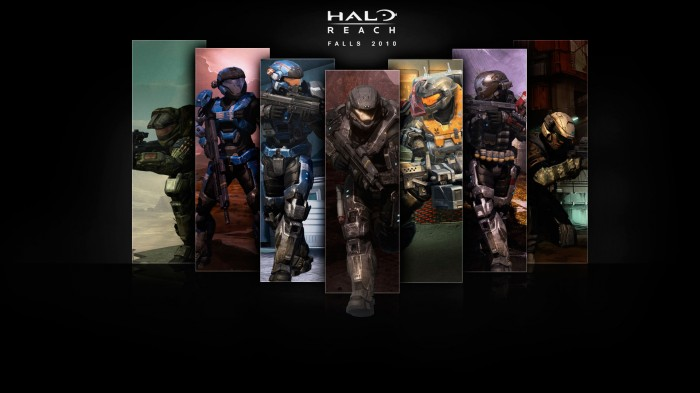 halo reach - 7 members