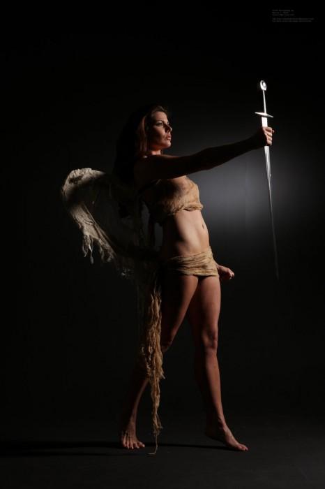 wrath of angels by mjranum stock