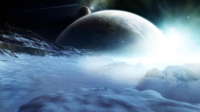 ice planet wallpaper