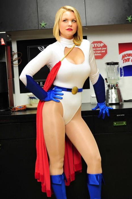 carrie keagan is power woman