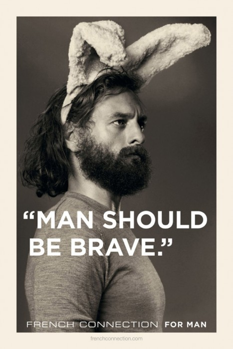 man should be brave 467x700 man should be brave