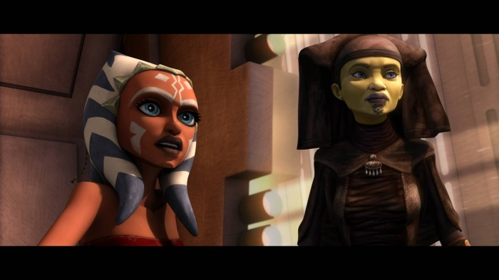 Ahsoka Tano and jedi Master 700x393 Ahsoka Tano and jedi Master Wallpaper star wars Sexy