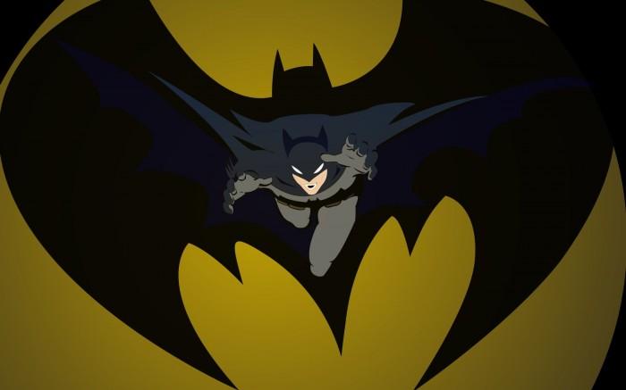 batman from the symbol