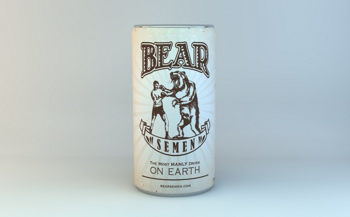 bear semen - the most manly drink on earth