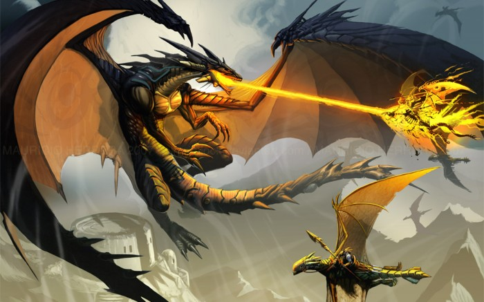 dragon vs wing riders
