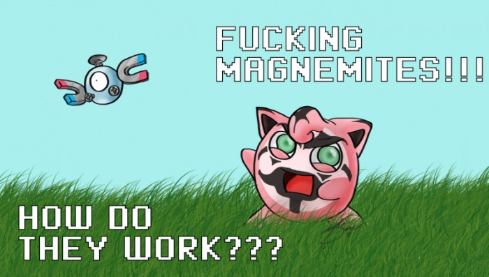 fucking magnemites