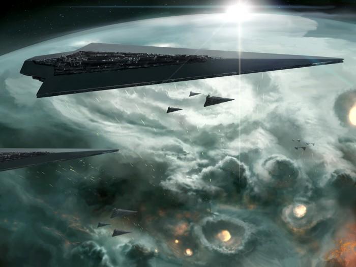 star wars - orbital death