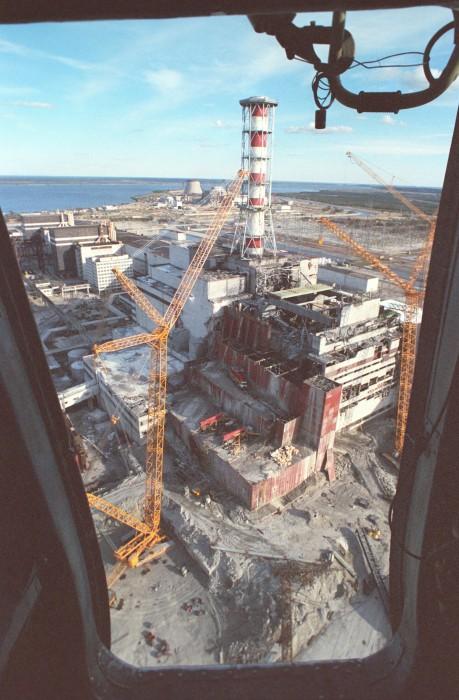 chernobyl contruction