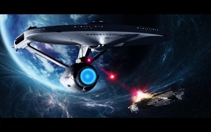 enterprise vs millenium falcon